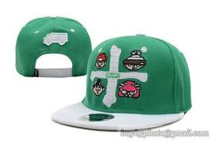 TRUKFIT Cross Snapback Green only US$8.90,please follow me to pick up couopons.