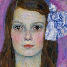 Detail :: Mäda Primavesi, 1912  by Gustav Klimt....this is SO beautiful.....