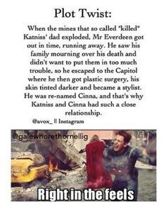 But then Cinna gets beat up in front of her and dragged off to his death! Noooooooooooo!