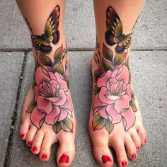 The tattoo is a body art that reveals your personality. Here is an amazing collection of foot tattoos designs to inpire you. You can see different foot tattoos Cute Foot Tattoos, Up Tattoos, Body Art Tattoos, Print Tattoos, Hand Tattoos, Sleeve Tattoos, Cool Tattoos, 100 Tattoo, Cover Tattoo