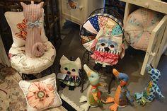 Muñecos en tela, ideales para los más chicos. Foto: gentileza La Casa de Liliana