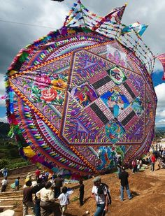 In Guatemala, Day of the Dead is less about costumes, more about kites.