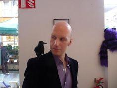 Bob with friend 'Nevermore' on Hallowe'en Bob, Life, Bob Cuts, Bob Sleigh, Bobs