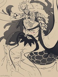 One Piece, Eustass Kid, Kaido