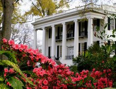if this had four columns, it would look legit like my house. love old plantation homes! Southern Plantation Homes, Southern Mansions, Southern Plantations, Southern Homes, Plantation Houses, Southern Comfort, Southern Belle, Southern Charm, Southern Heritage