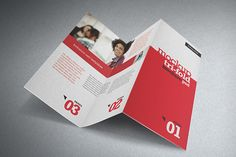 NT Photorealistic Mockup Trifold Brochure Z Style by antyalias , via Behance