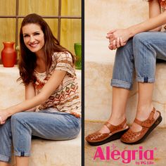 Look no further than the Jemma by #AlegriaShoes if you are looking for a comfortable, secure closed casual shoe with a cute flair that comes in a variety of patterns and colors. Find them now on ClogsAndShoes.com. #casual #comfortable #womensfashion #womensshoes #scrublife #nurse #nurselife #nursing #fashionblogger #fashion #fashioninspiration #bosslady #cuteshoes #hairdresser #teacher #cook #waitress #cute #Alegria #outfitoftheday #ootd #spring #springfashion #sandals #casualwear…