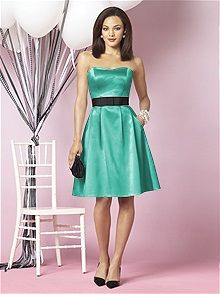 Pantone Turquoise Bridesmaid Dresses: The Dessy Group