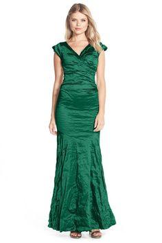 649b4e48 Techno Metal Mermaid Gown Mermaid Gown, Classic Elegance, Nicole Miller,  Formal Dresses For