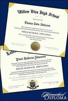 What Else You Said About Our Diplomas for Homeschool Graduation