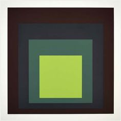 josef albers | Josef Albers's artwork. Homage to the Square. Image via mutualart.