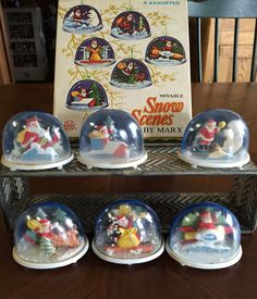 Magical snow globes - even if they were just plastic! Christmas Snow Globes, Christmas Time, Vintage Snow Globes, Kids Growing Up, Ol Days, Vintage Holiday, Classic Toys, Merry And Bright, 1990s