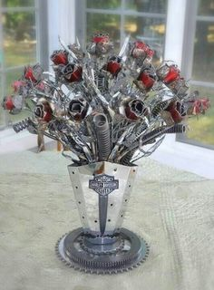 Lol. Coolest flowers ever! I would actually like getting these :)