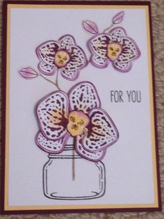 Stampin Up Climbing Orchid