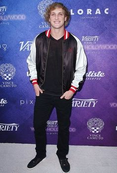 Logan Paul Height Weight Wiki Shoe Size Age Family Facts , informations and more on Celebrity. Logang Paul, Fact Families, Celebrity List, People Magazine, Height And Weight, Rare Photos, Pinterest Board, Crushes, Bomber Jacket