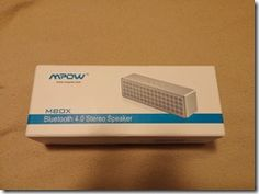 MPOW MBOX Bluetooth Speaker Review http://www.dragonblogger.com/mpow-mbox4-0-bluetooth-speaker-review/