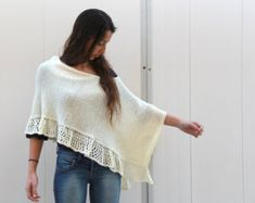 poncho for woman on Etsy, a global handmade and vintage marketplace.