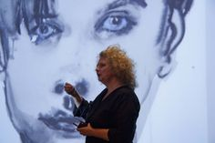 Marlene Dumas (born 3 August 1953) is a South African born artist and painter who lives and works in Amsterdam, The Netherlands. In the past Dumas produced paintings, collages, drawings, prints and installations. She now works mainly with oil on canvas and ink on paper. Stressing both the physical reality of the human body and its psychological value