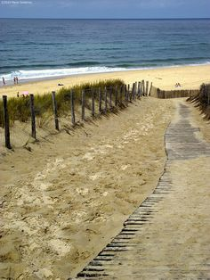 Lacanau beach. Aquitaine, France. Relaxing just thinking about being here!