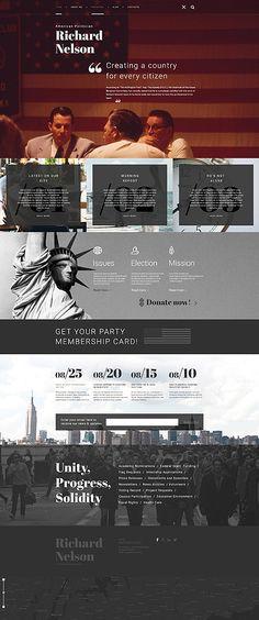 Template 58658 - Richard Nelson  Responsive WordPress  Theme
