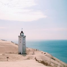 Rubjerg Knude lighthouse in Denmark / photo by Julie Grath