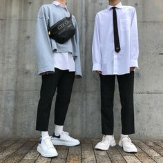 Learn About These Great korean fashion outfits 9331 Stylish Mens Outfits, Cool Outfits, Fashion Outfits, Fresh Outfits, Style Fashion, Womens Fashion, Korean Fashion Trends, Korean Street Fashion, Korea Fashion
