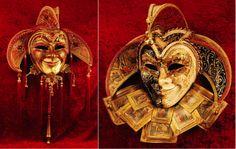 Jolly mask by La Fucina dei Miracoli www.maschere.it