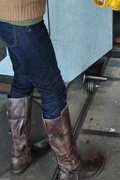 details about teak lux go go zipper boot ~bed/stu ladies boots