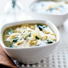 chicken noodle soup with spinach (what to do with leftover spinach)