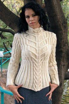 TRICO y CROCHET-madona-mía: Jersey - tricot - mujer - modelos