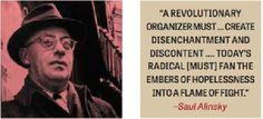 Image result for saul alinsky highlighted text