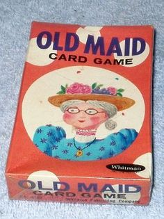 Vintage 1960's Whitman Old Maid Card Game Sealed Box Circus Edition