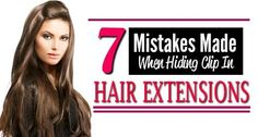 hiding clip in hair extensions