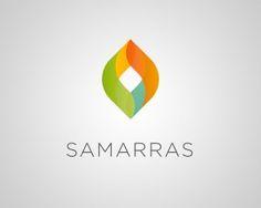 Samarras - Inspiration: Colorful and Vivid Logos Typography Logo, Logo Branding, Branding Design, Design Logos, Corporate Branding, Brand Identity, Clover Logo, Restaurant Logo Design, Medical Logo