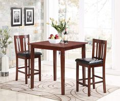 I Found A 3 Piece Square Pub Dining Set At Big Lots For Less
