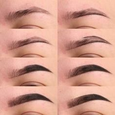 Make Up; Look; Make Up Looks; Make Up Augen; Make Up Prom;Make Up Face; Makeup Steps Source by sunnyzifer Eyebrow Makeup Tips, Eye Makeup Steps, Contour Makeup, Skin Makeup, Eyeshadow Makeup, Makeup Eyebrows, Makeup Tips Dark Skin, Eyebrow Cut, Makeup Trends