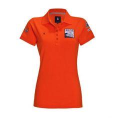 Oranje Gaastra Limited Edition Weymouth polo voor dames. Gaastra is de kleding sponsor van het Nederlands team zeilen in aanloop en voor de Olympische Spelen 2012 in Londen. Met deze Limited Edition Weymouth 2012 oranje polo kunnen alle oranje en zeil fans deze zomer voor Nederland uitkomen.