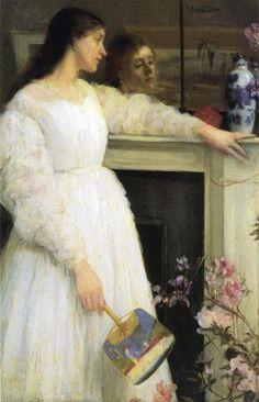 Symphony in White, No. 2 The Little White Girl - Whistler