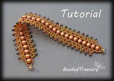 Bead Dance   beadweaving bracelet tutorial / by BeadedTreasury