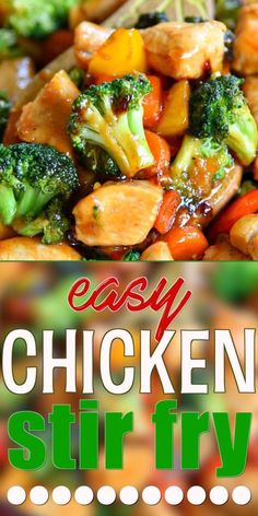 Indian Food Recipes, Healthy Dinner Recipes, Asian Recipes, Easy Weeknight Recipes, Easy Chicken Stir Fry, Pineapple Chicken Stir Fry, Chicken Vegetable Stir Fry, Shrimp Stir Fry, Cashew Chicken