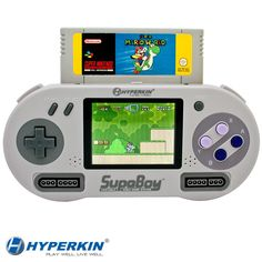How cool is this??! SUPABOY Portable Pocket SNES Console #supernintendo #retro #mario #videogameaddict #videogameparty #birthdayidea #events #fundraiser #gametruck #rollonupgaming http://www.rollonupgaming.com/