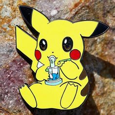 Pikachu Knows   By @forever_rolling_high  Follow & Tag Your Pins#daily_bowl  Be Featured! DM Your Pics #cloudsovercanada #pins #hightimes #iwillmarrymary #420 #420art #420photography #dabs #dabtools #dabbing #stonerdays #trippy #swed by daily_bowl