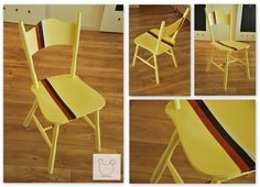 krzesło z paskiem