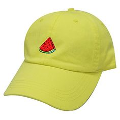 City Hunter, Baseball Cap, Watermelon, Fashion Brands, Lemon, Amazon, Colors, Hats, Cotton