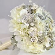 I have a ton of brooches. I'm going to attempt to make this....oooh ahhh. Pretty.
