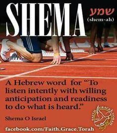 #Shema #hear #obedience Deuteronomy 6:4 Mark 12:29 #itiswritten #hebrewlessons #learnhebrew