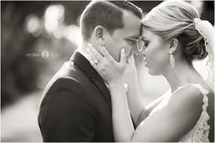 Bride and groom  |  Newlyweds  |  Just married  |  Bride and groom portraits  |  Black and white  |  Aislinn Kate Photography