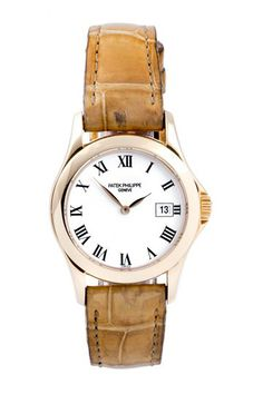 Vintage Patek Philippe Women's 18K Yellow Gold Watch by Austin's Watches on @HauteLook