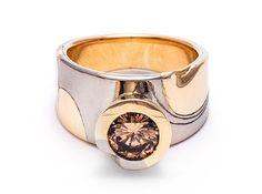 e.g.etal - Sculptural Champagne ring