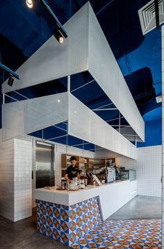 Swimming Pool Studio Bases Shanghai Cafe Interior On The Mediterranean Sea